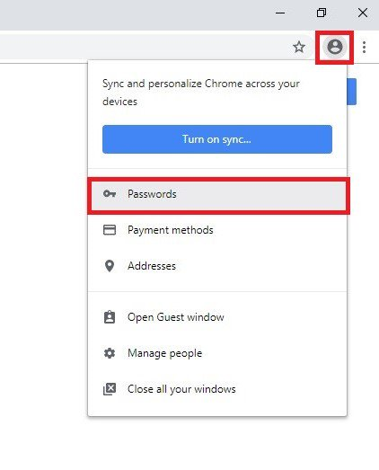 How to delete saved passwords in your browser